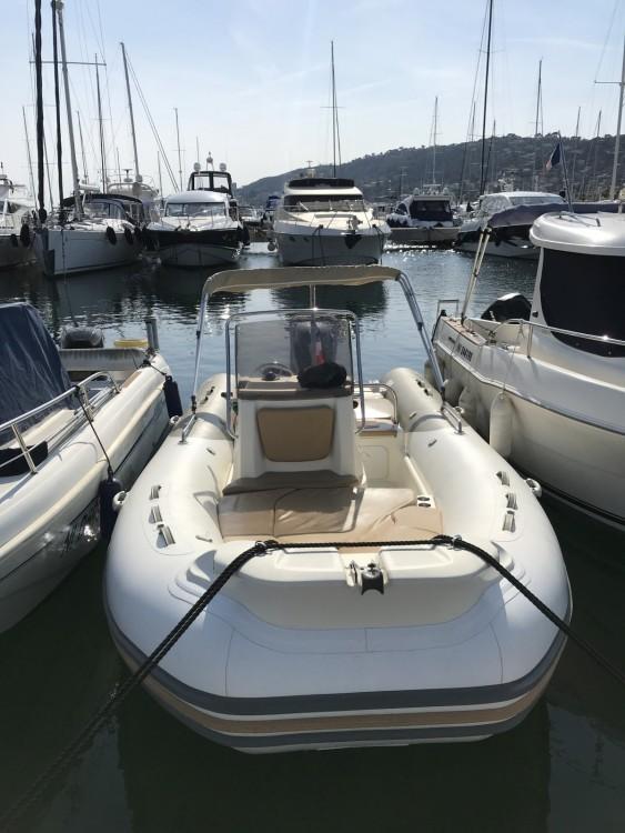 Schlauchboot mit oder ohne Skipper Zodiac mieten in Cannes