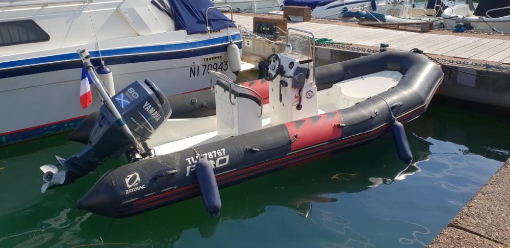 Schlauchboot mit oder ohne Skipper Zodiac mieten in Cogolin