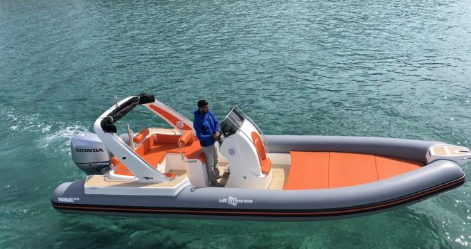 Vermietung Schlauchboot Altamarea mit Führerschein