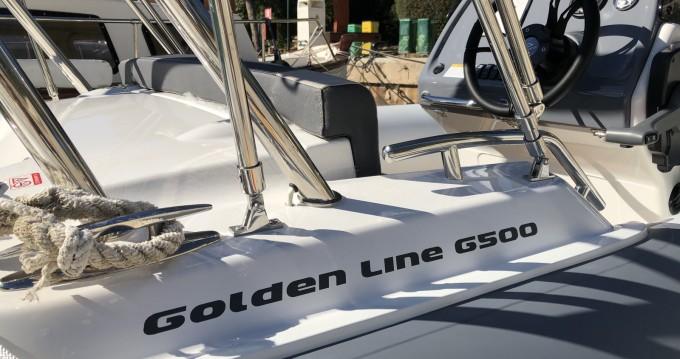Bootsverleih Badia de Santa Ponça günstig Golden Line G500LF