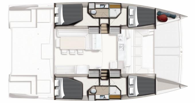 Katamaran mit oder ohne Skipper Bali Catamarans mieten in Ibiza Island