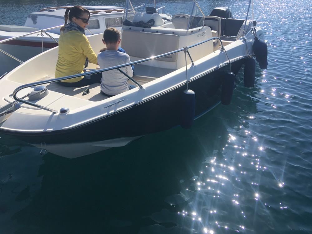 Yacht-Charter in La Ciotat - Quicksilver Activ 675 MERCURY  200cv auf SamBoat