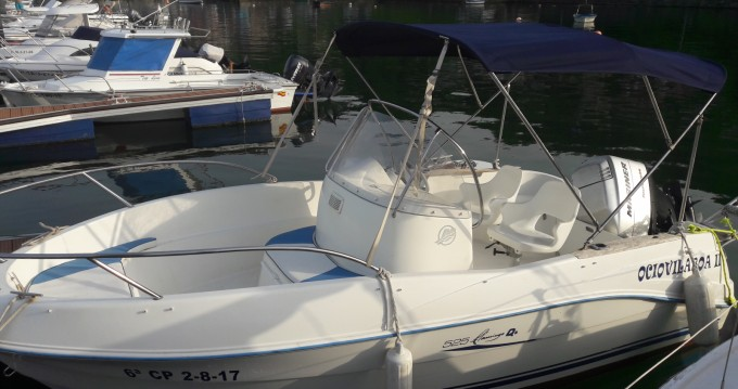 Bootsverleih Quicksilver Quicksilver 525 Flamingo Cobres Samboat