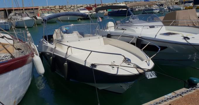 Motorboot mit oder ohne Skipper Quicksilver mieten in Cogolin