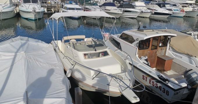 Vermietung Motorboot Ultramar mit Führerschein