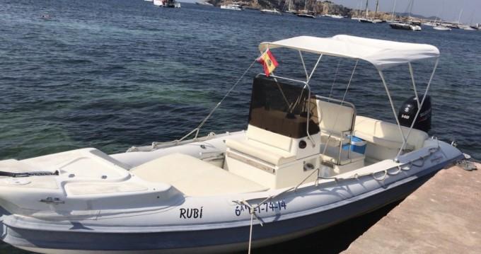 Schlauchboot mieten in Ibiza Island - Gommonautica G65y
