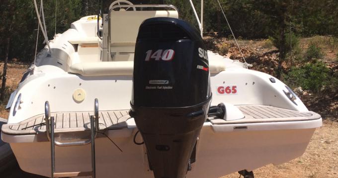 Schlauchboot mit oder ohne Skipper Gommonautica mieten in Ibiza Island