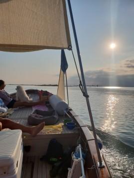 Barca d'epoca in legno  Gozzo zwischen Privatpersonen und professionellem Anbieter Treporti
