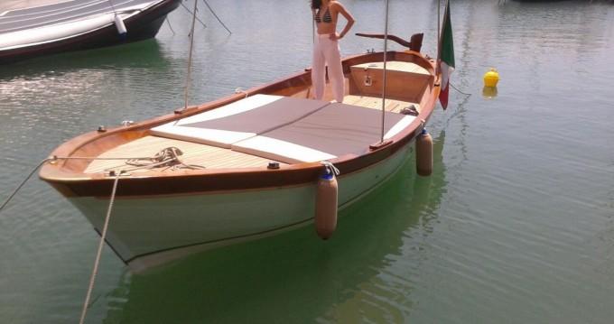 Vermietung Motorboot Barca d'epoca in legno  mit Führerschein