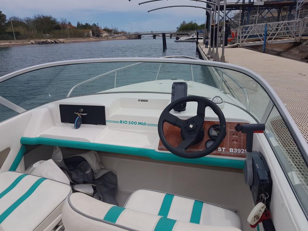 Vermietung Motorboot Rio mit Führerschein