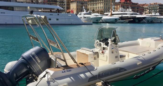 Bootsverleih Capelli Tempest 700 Sun Nice Samboat