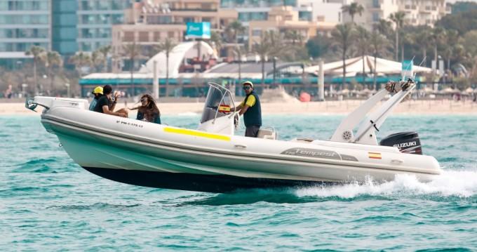 Schlauchboot mieten in Palma de Mallorca zum besten Preis