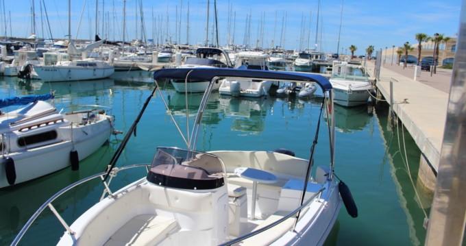 Motorboot mit oder ohne Skipper Marinello mieten in Roda de Barà