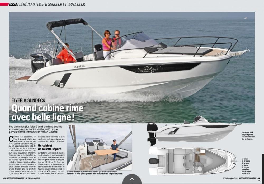 Motorboot mit oder ohne Skipper Bénéteau mieten in Cogolin