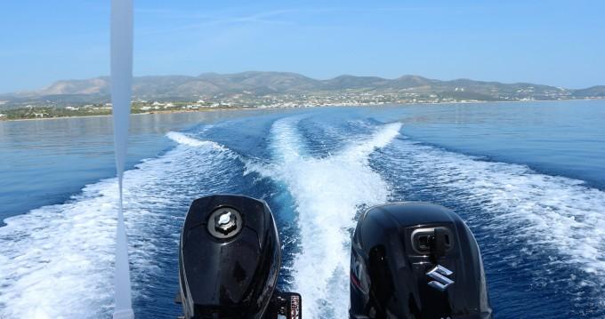 Motorboot mit oder ohne Skipper The Sailor's Ride mieten in Paros