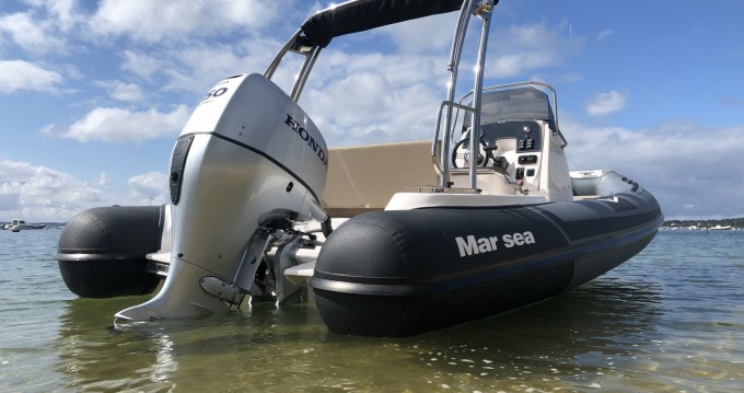 Vermietung Schlauchboot Marsea mit Führerschein