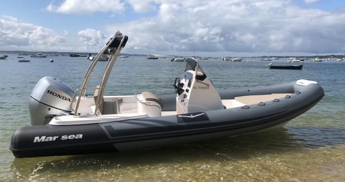 Schlauchboot mit oder ohne Skipper Marsea mieten in Cap Ferret