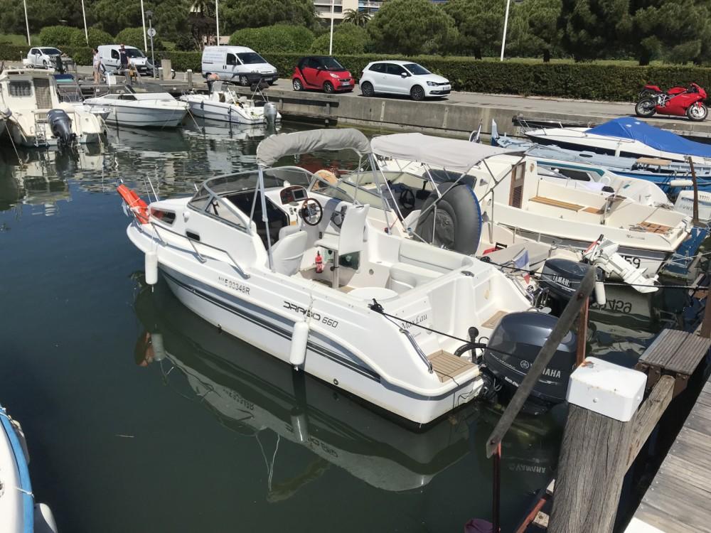 Vermietung Motorboot Drago mit Führerschein