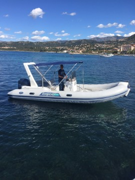 Schlauchboot mieten in L'Île-Rousse - Capelli Tempest 625