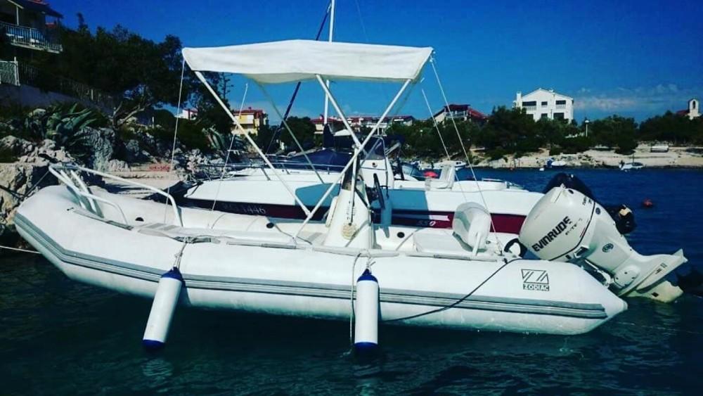 Schlauchboot mieten in Trau - Zodiac Yachtline 480 Deluxe Rib