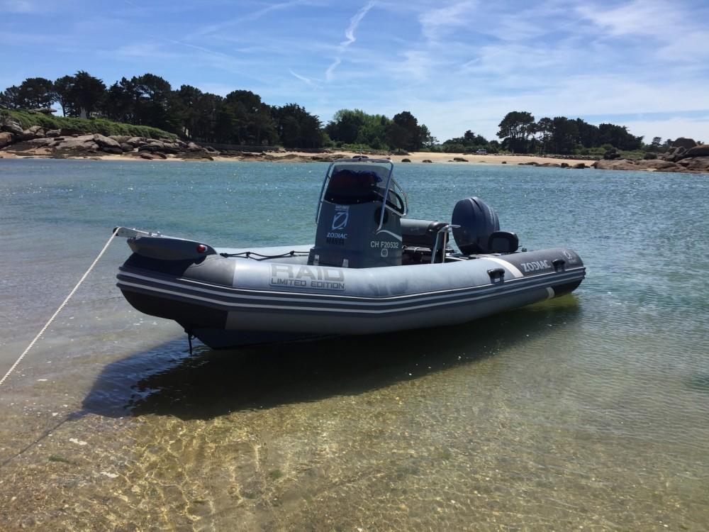 Schlauchboot mit oder ohne Skipper Zodiac mieten in Quiberon