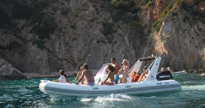 Vermietung Schlauchboot Brig mit Führerschein