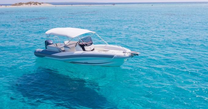 Schlauchboot mieten in Ibiza Town - Zodiac NZ-O 760