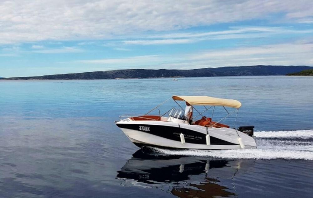 Ein Okiboats Barracuda 545 Open mieten in Krk