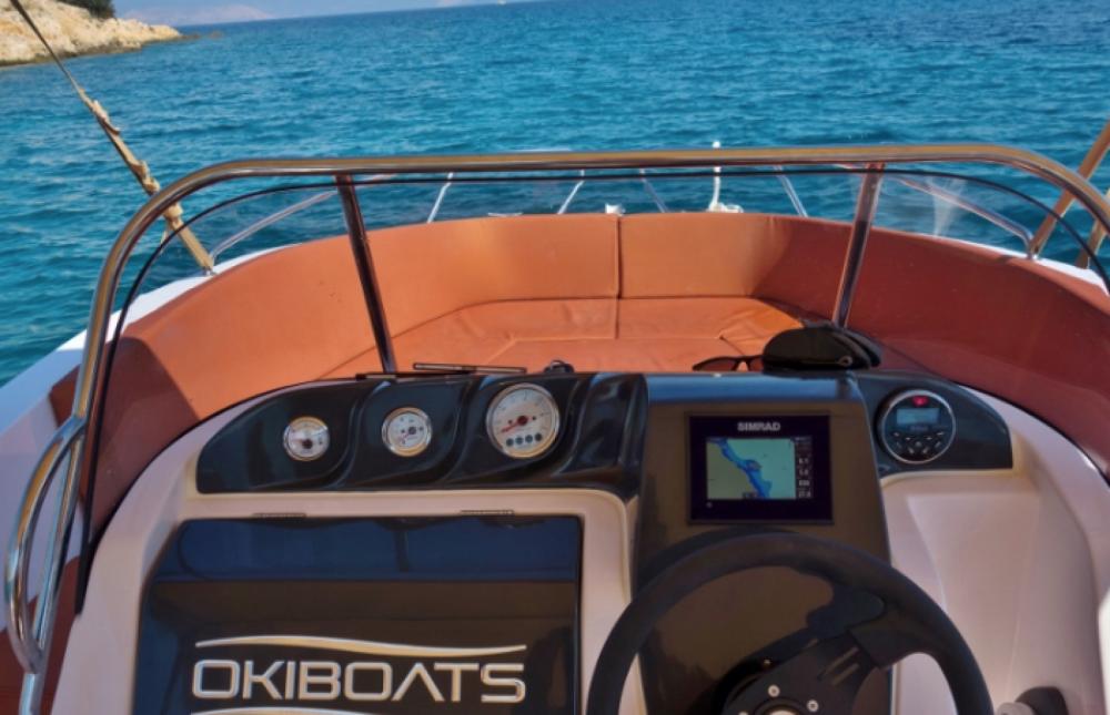 Motorboot mieten in Krk - Okiboats Barracuda 545 Open