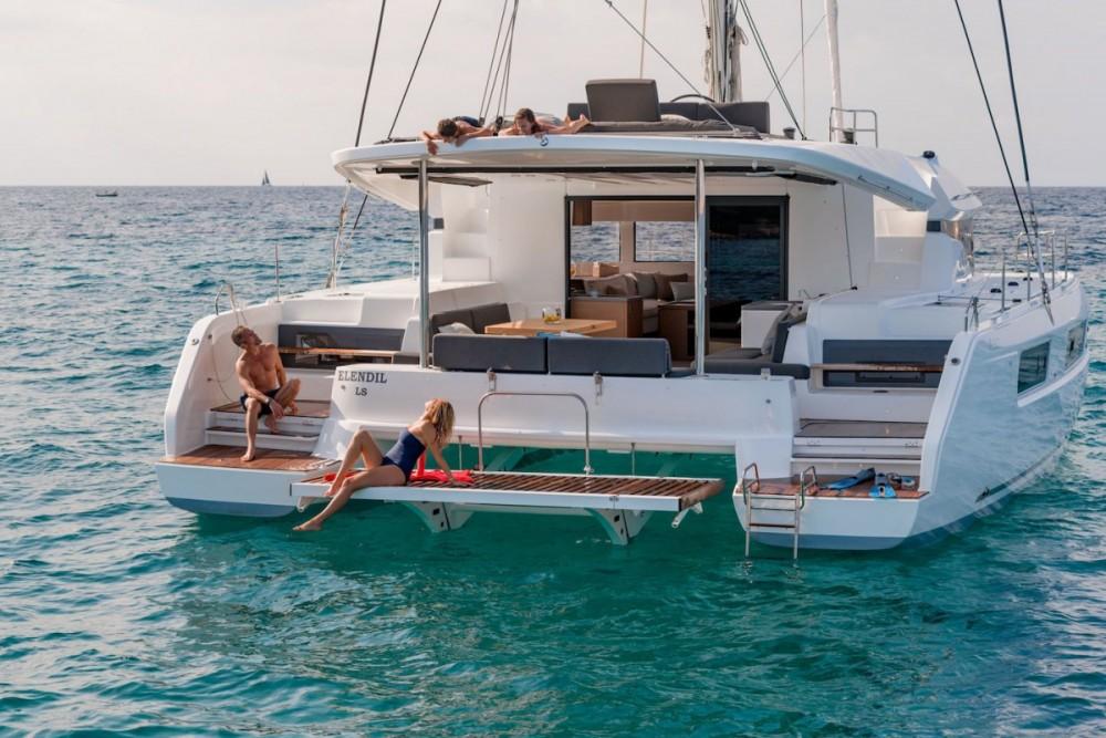 Lagoon Lagoon 50 - 6 + 2 cab. zwischen Privatpersonen und professionellem Anbieter Tortola
