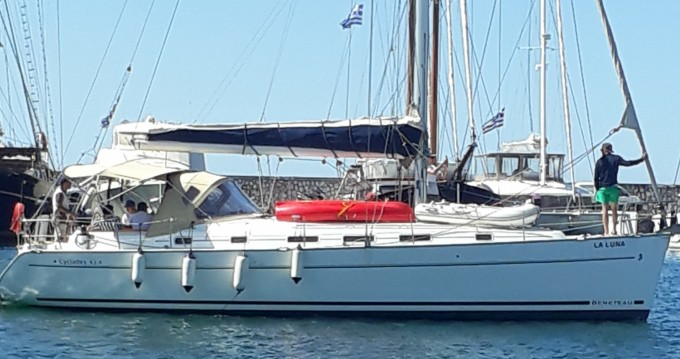 Yacht-Charter in Piräus - Bénéteau Cyclades 434 auf SamBoat