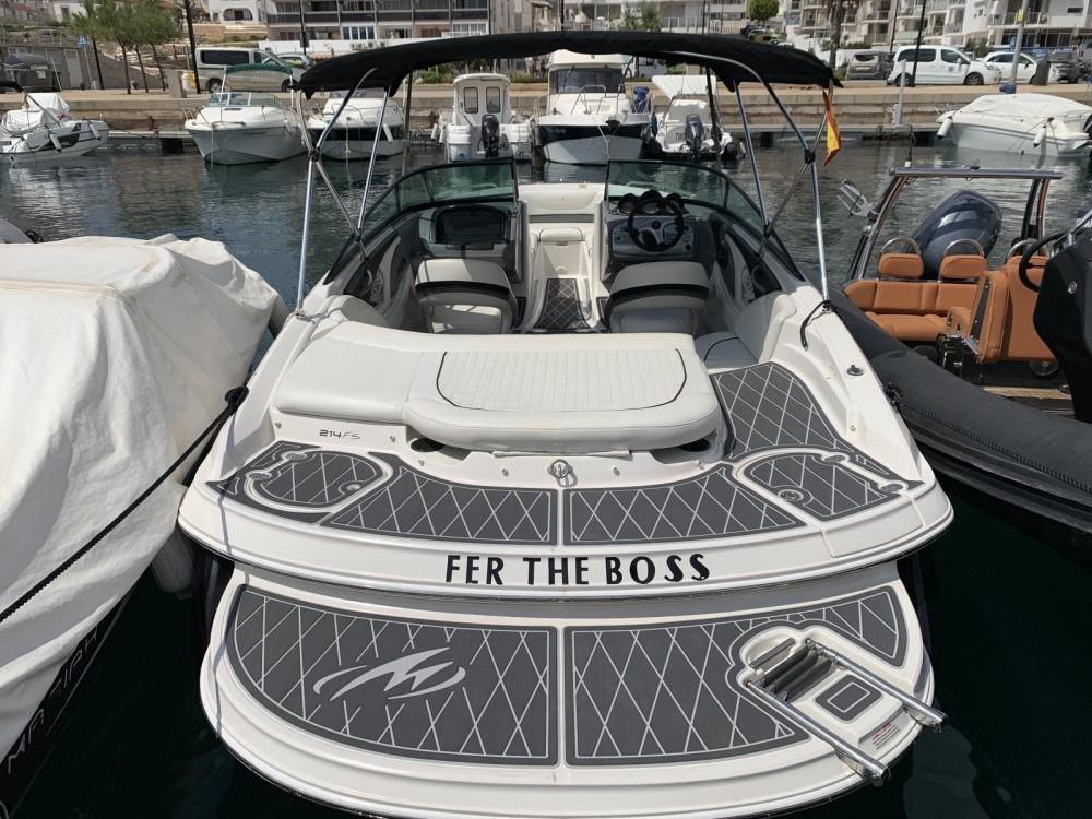 Bootsverleih Sant Antoni de Portmany günstig Monterey 214 FS
