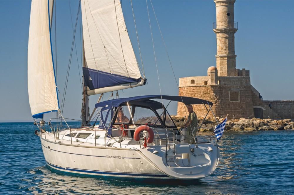 Bootsverleih Chania günstig Sun Odyssey 40