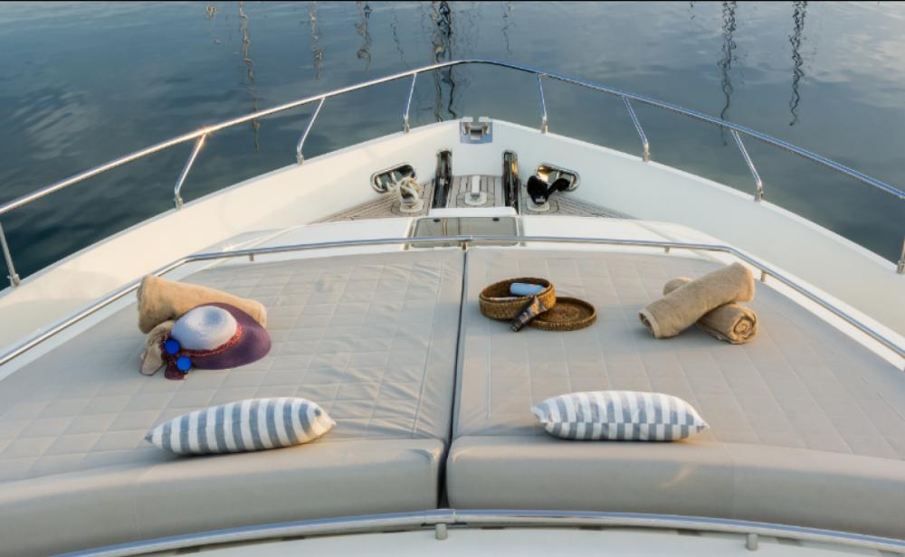 Bootsverleih Ferretti 2002 Athen Samboat