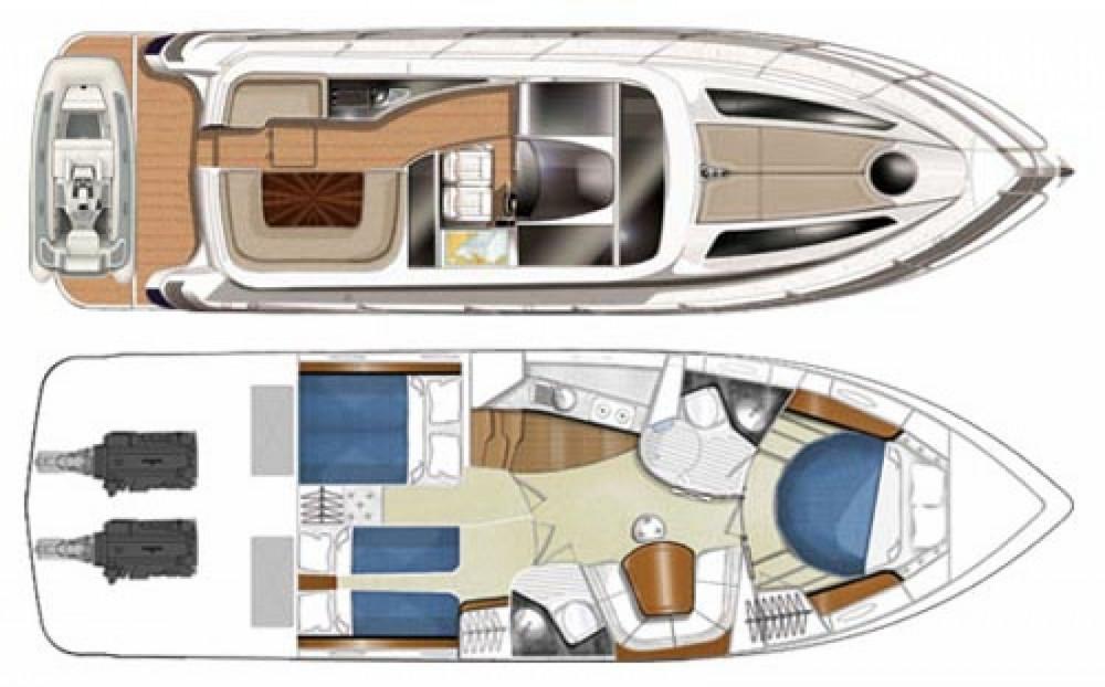 Vermietung Motorboot FOCUS MOTOR YACHT mit Führerschein