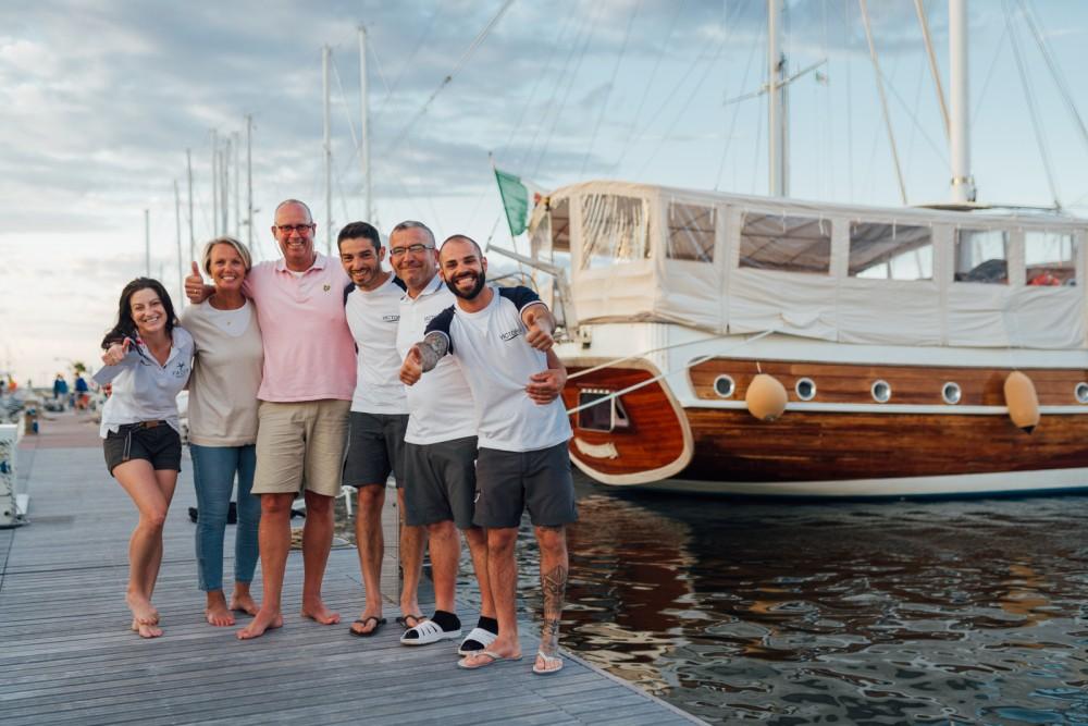 Segelboot mit oder ohne Skipper Gulet mieten in Sardinien