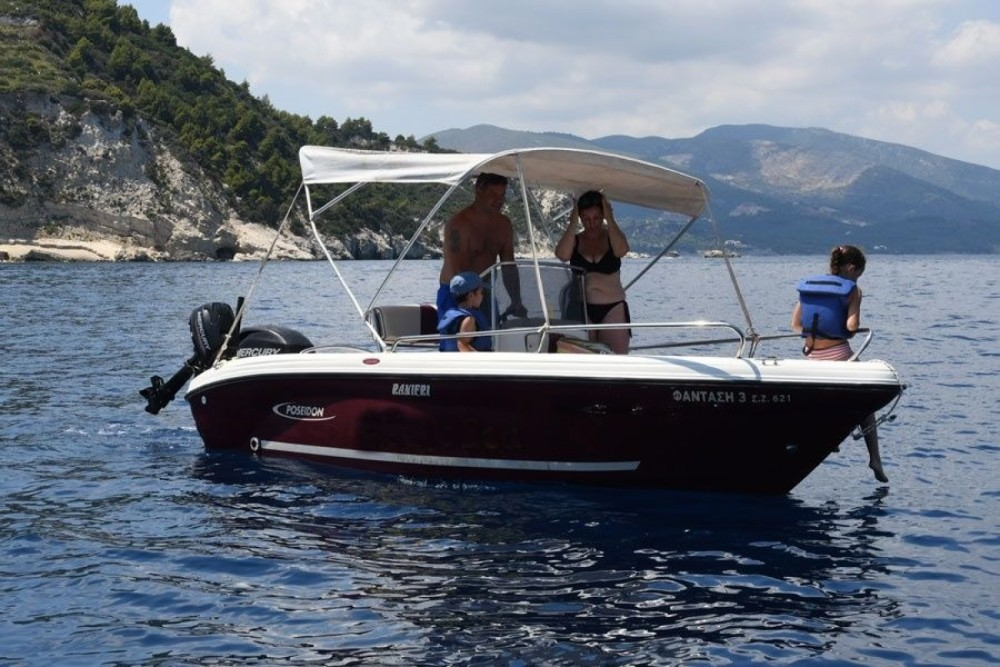 Bootsverleih Zakynthos günstig Poseidon 5 M