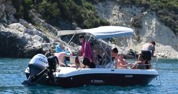 Poseidon ranieri Soverato 5.40 zwischen Privatpersonen und professionellem Anbieter Zakynthos (Island)
