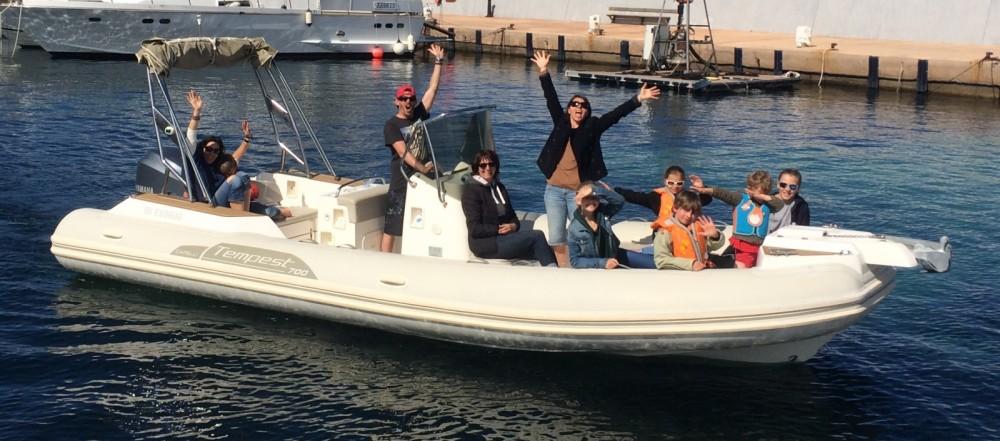 Yacht-Charter in L'Île-Rousse - Capelli Tempest 700 Sun auf SamBoat