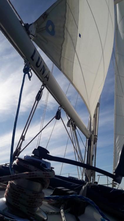 Jeanneau Sun Odyssey 37.1 zwischen Privatpersonen und professionellem Anbieter Rota