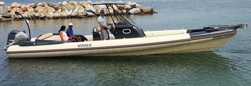 Schlauchboot mit oder ohne Skipper Winner mieten in Parikia