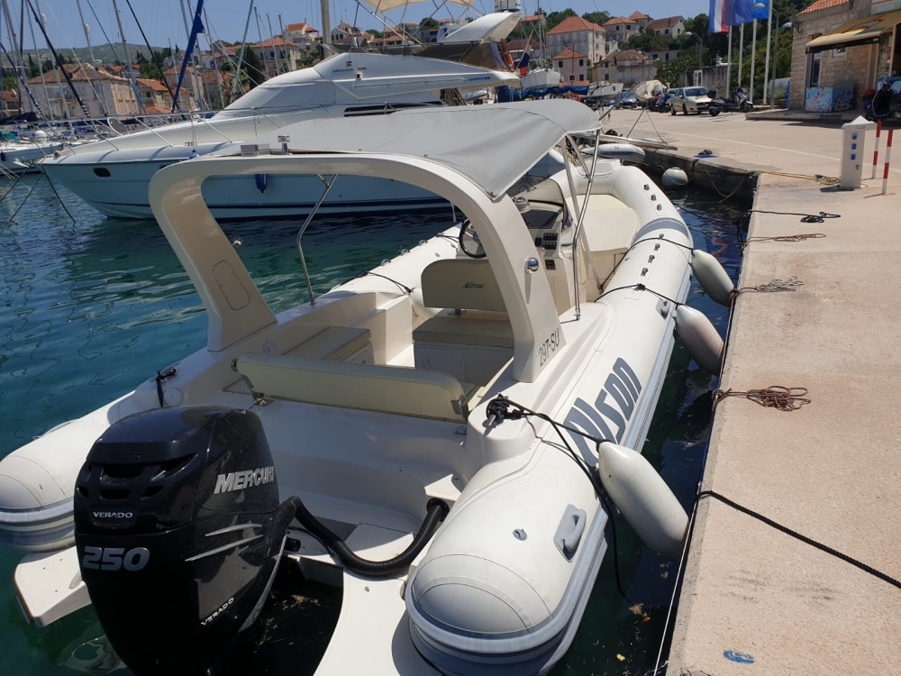 Vermietung Schlauchboot Alson mit Führerschein