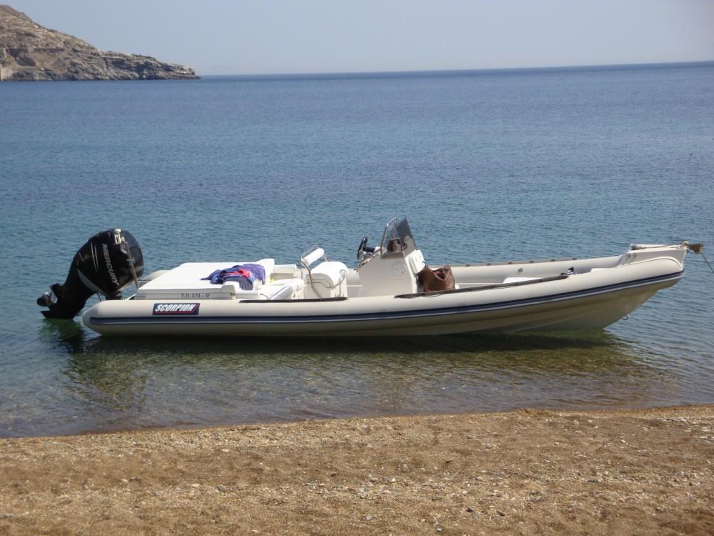 Vermietung Schlauchboot Scorpion mit Führerschein