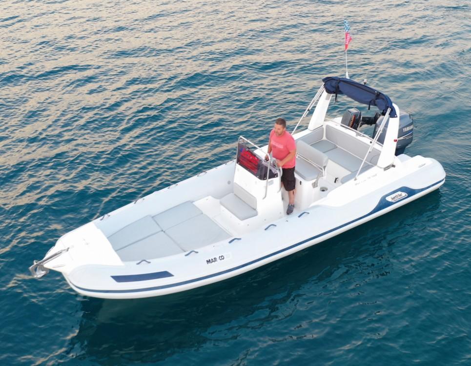 Schlauchboot mit oder ohne Skipper Marco mieten in Nydri