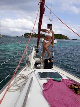 Segelboot mieten in Marie-Galante Island - Bénéteau Oceanis 411 Clipper
