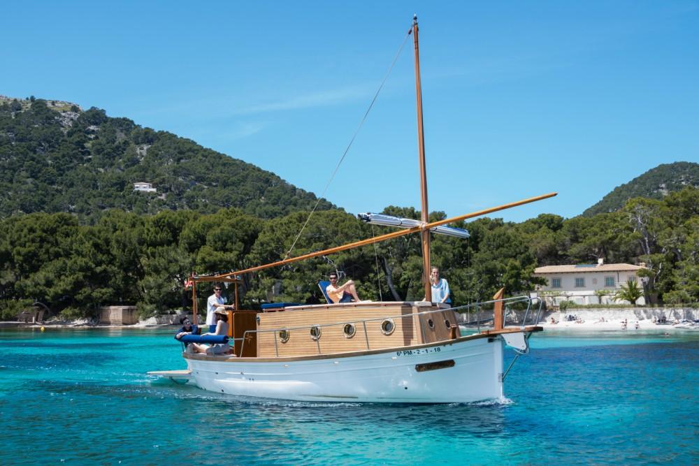 Vermietung Motorboot vell mari mit Führerschein