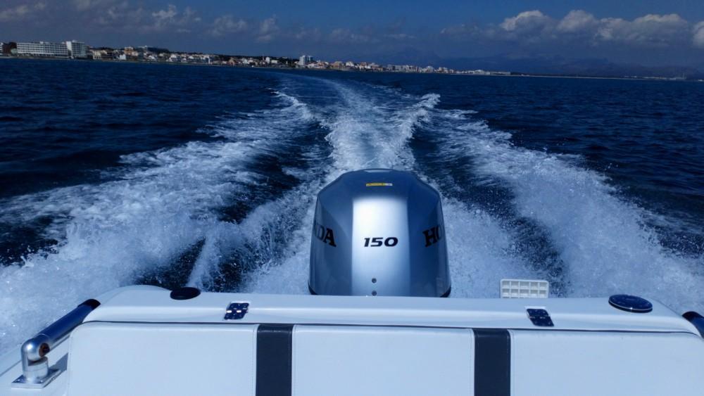 Ein Ab-Marine oceanus 19 VST mieten in Can Picafort