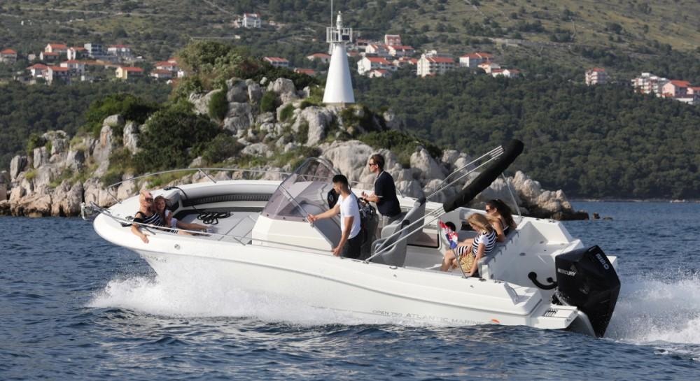 Motorboot mit oder ohne Skipper Atlantic mieten in Trau