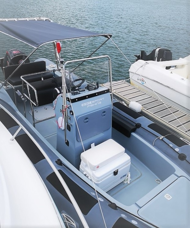 Schlauchboot mieten in Argelès-sur-Mer - Valiant Valiant 630 Sport Fishing