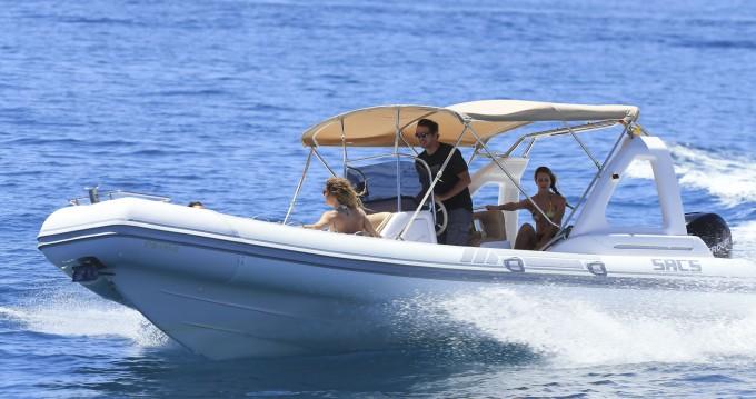 Motorboot mit oder ohne Skipper Sacs mieten in Ibiza Town